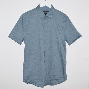 John Varvatos USA Luxe Slim Fit Button Up Shirt